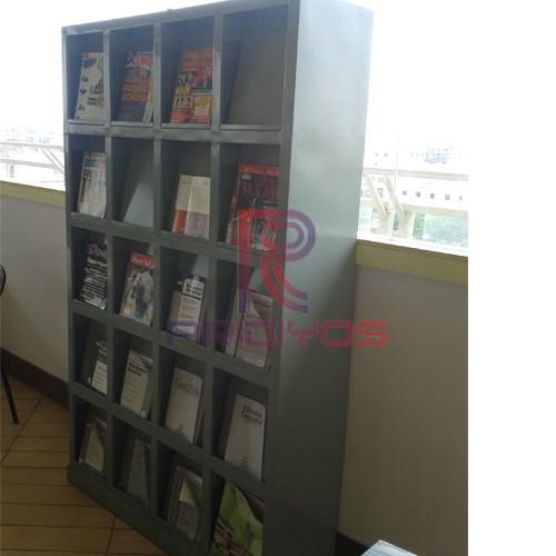 Library Rack 4-pridiyos