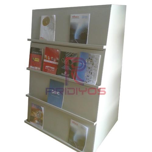 Magazine Display Cum Storage Cupboard-pridiyos