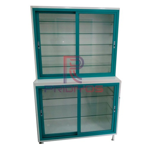 Medical Cabinet Top & Bottom Sliding